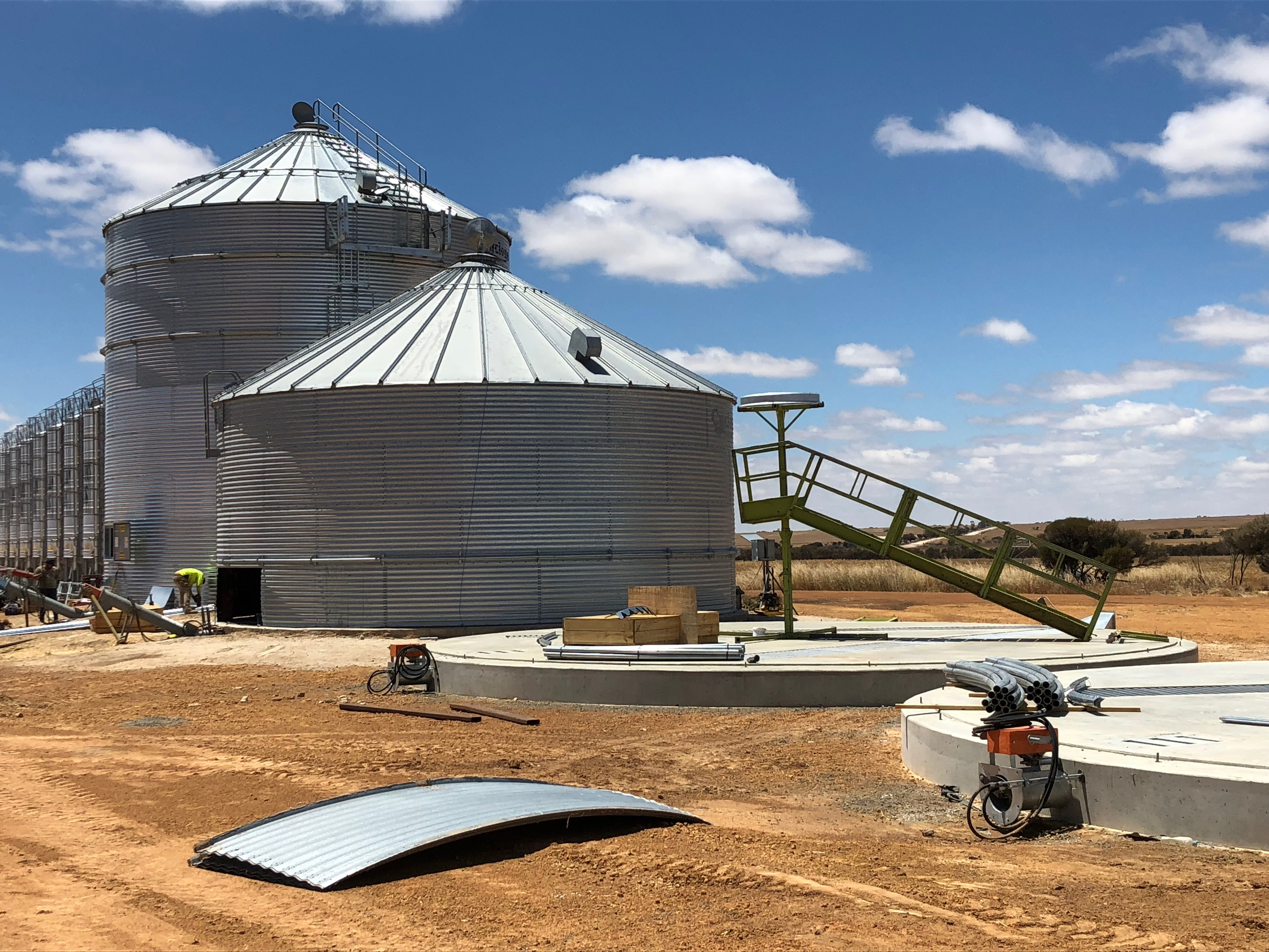 on farm Grain Storage solutions cyclone